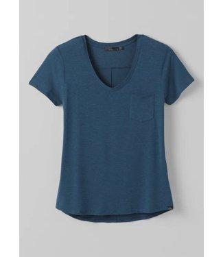 prAna W's Foundation Short Sleeve V-Neck Shirt