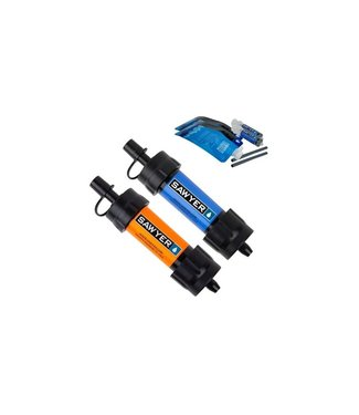 Sawyer Mini Water Filtration System Twin Pack