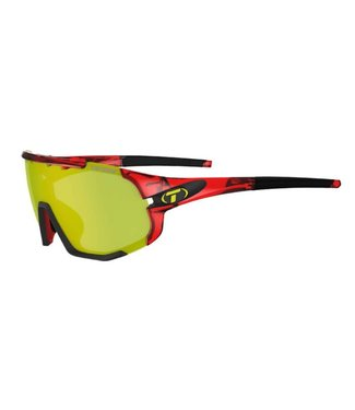 Tifosi Sledge, Crystal Red Interchangeable Sunglasses