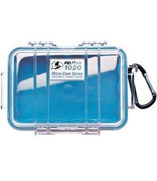 PELICAN Micro Case 1020 Blue / Clear