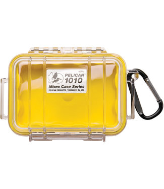 PELICAN Micro Case 1010 Yellow / Clear