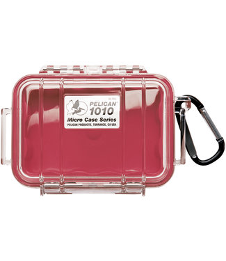 PELICAN Micro Case 1010 Red / Clear