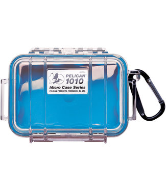 PELICAN Micro Case 1010 Blue / Clear