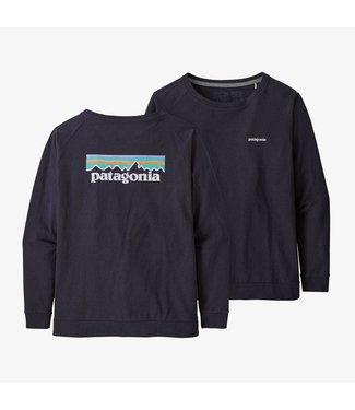 Patagonia W's Long Sleeve Pastel P-6 Logo Responsibili-Tee