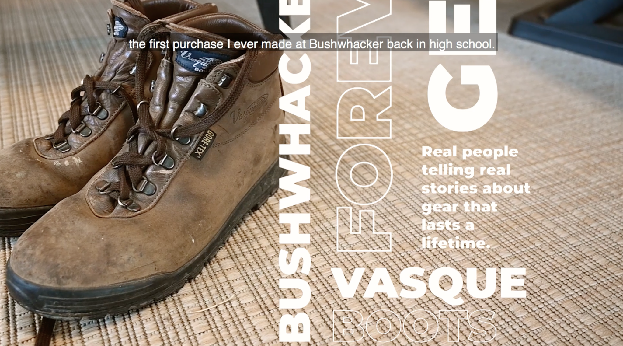 Forever Gear: Vasque Boots