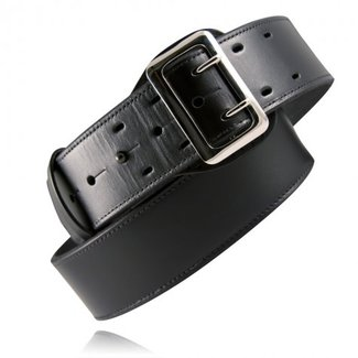 "Boston Leather Boston Leather 2.25"" Sam Browne Fully Lined Plain Belt"