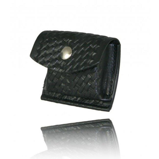 Boston Leather Boston Leather Glove/Mask Basketweave Pouch