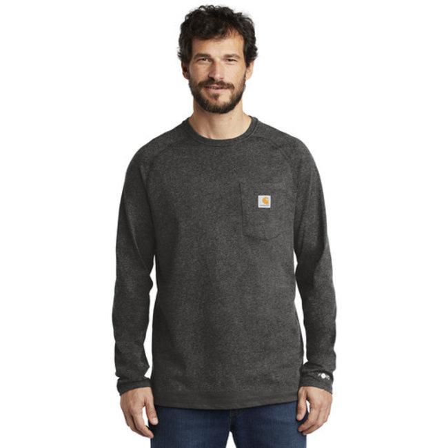 Carhartt Carhartt Force Cotton Delmont Long Sleeve T-Shirt