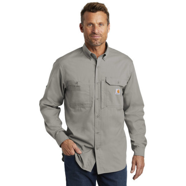 Carhartt Carhartt Force Ridgefield Solid Long Sleeve Shirt