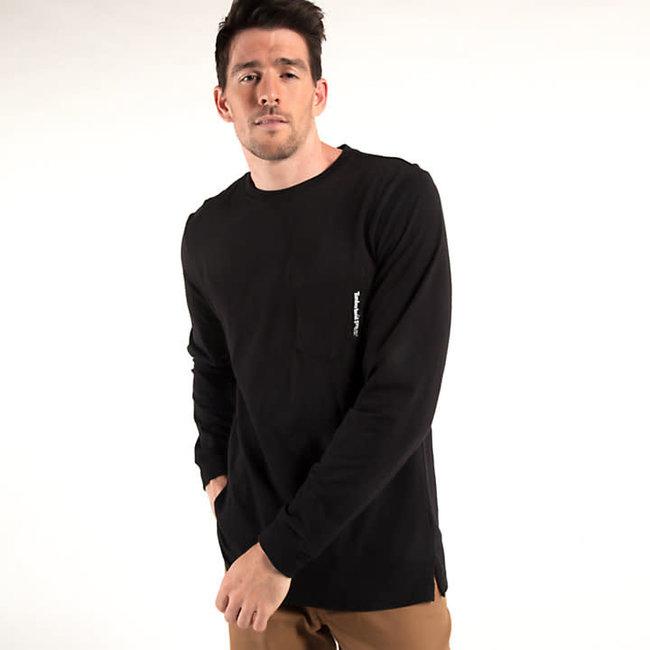 Timberland Pro Base Plate Long Sleeve T-Shirt Jet Black