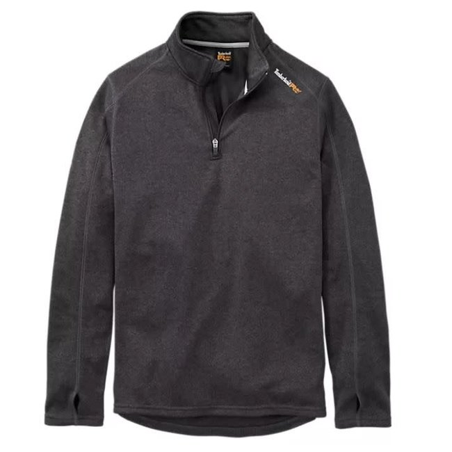 Timberland Pro Understory 1/4-Zip Fleece Dark Charcoal Heather