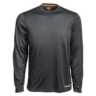 Timberland Pro Wicking Good Sport Long Sleeve Shirt Dark Heather