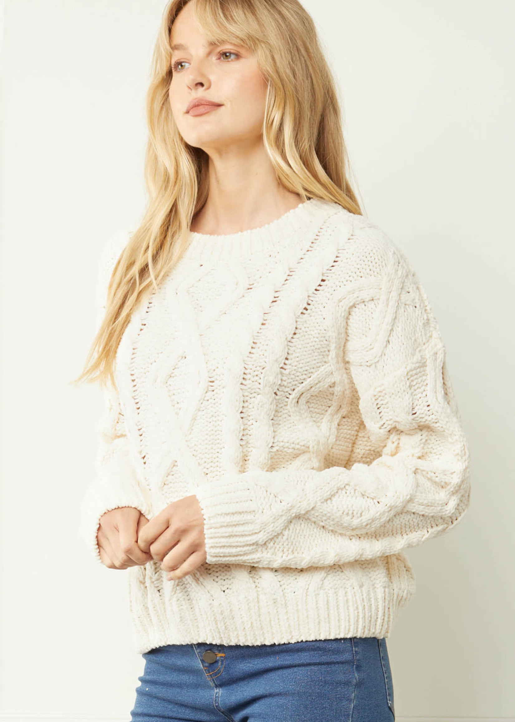 Cream Dream Sweater
