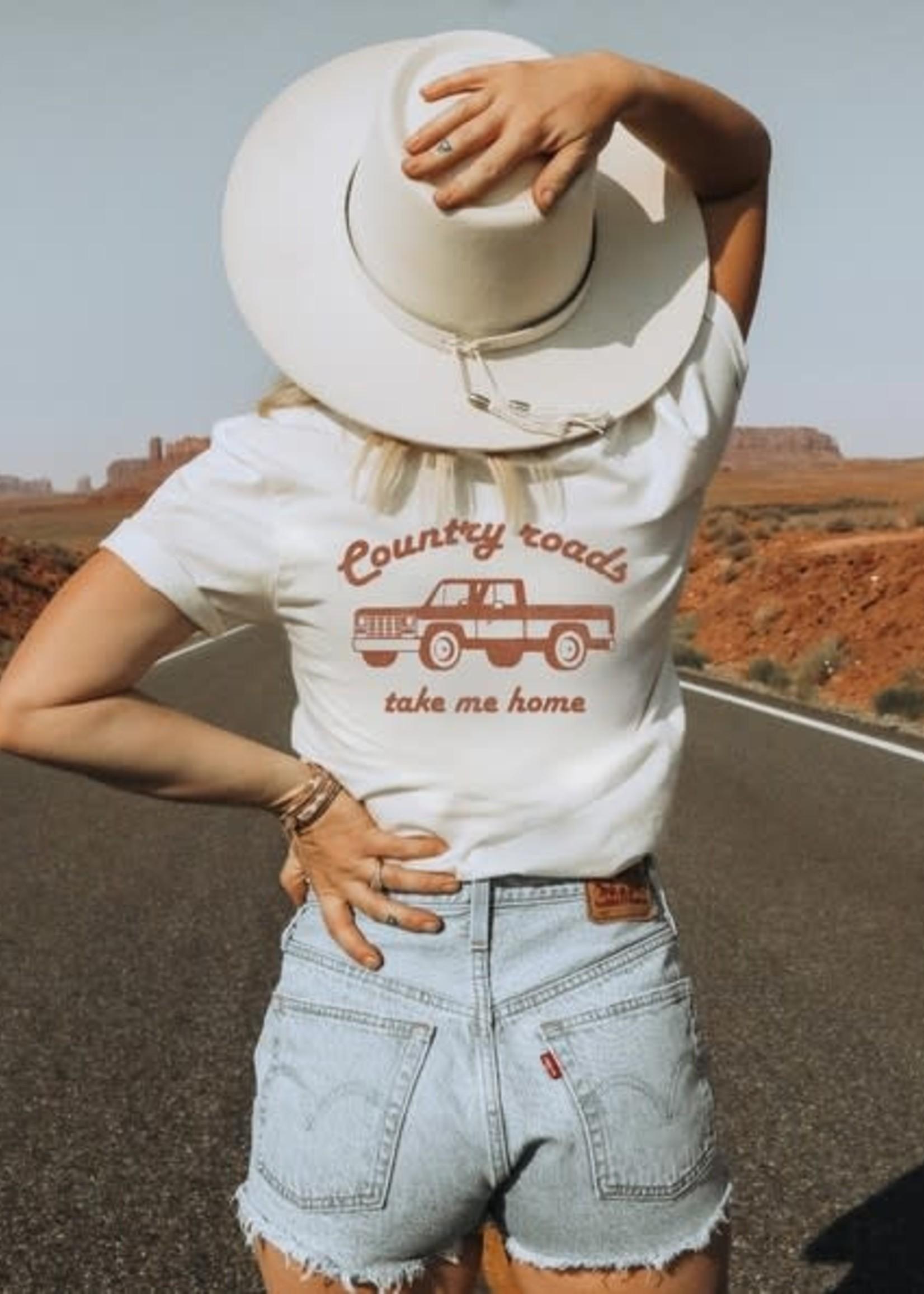 Country Roads Take Me Home Tee