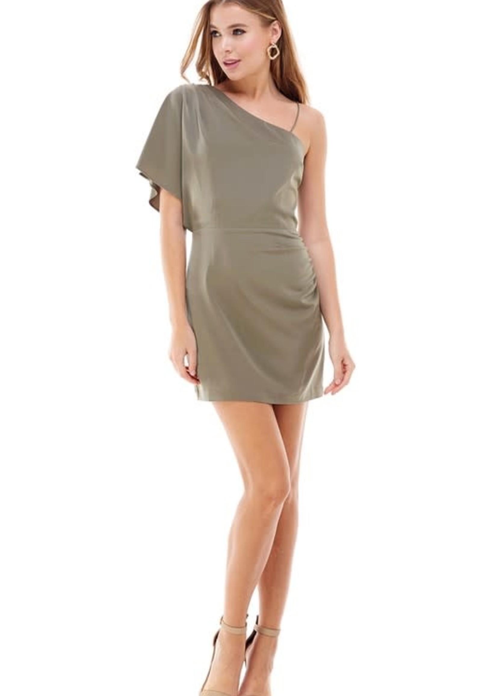 One Shoulder and Wonder Dress
