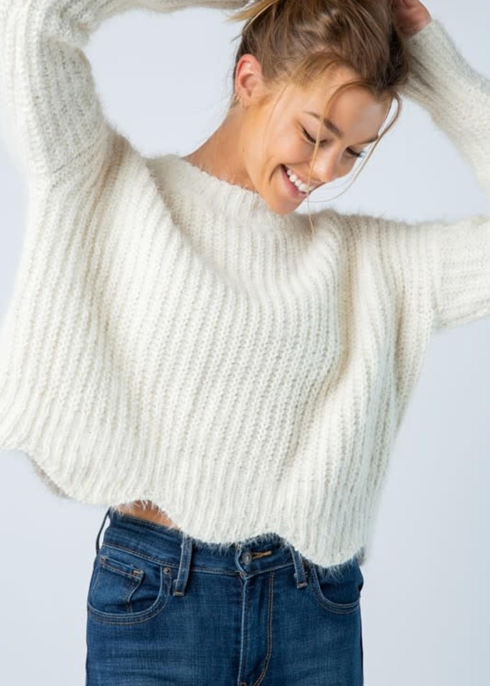 Fun Fuzzy Sweater