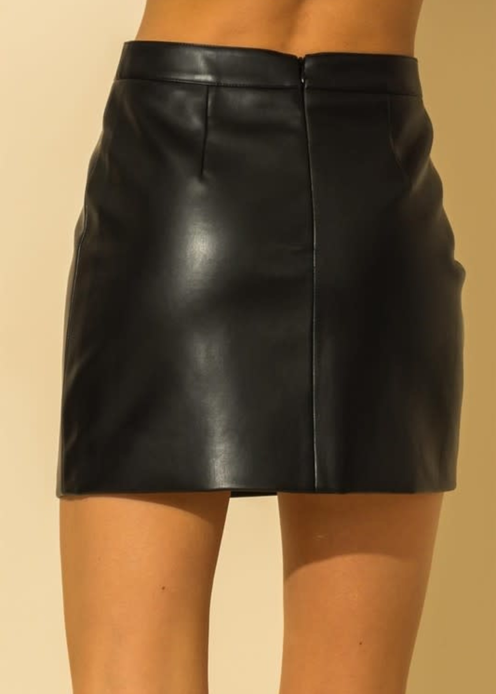 Best Ever Leather Skirt (2 Colors)