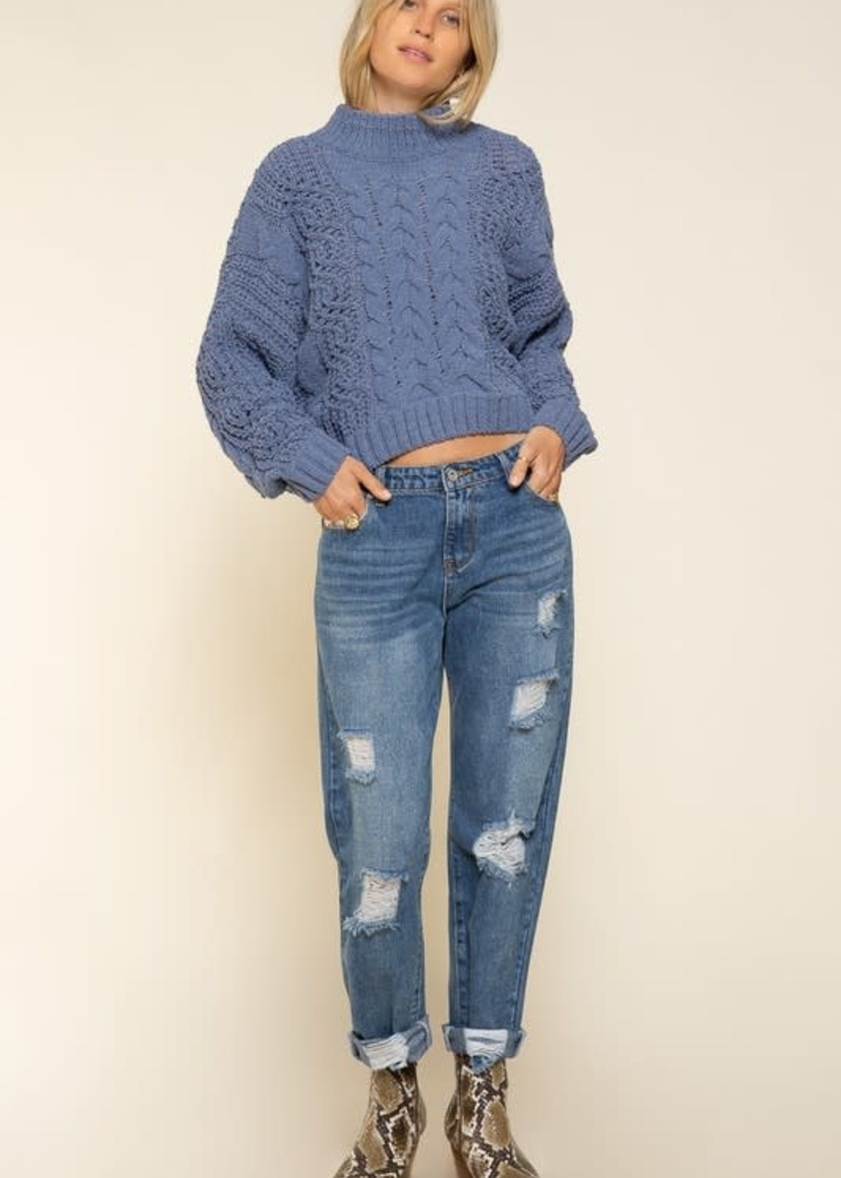 Free To Be Me Sweater (3 Colors)