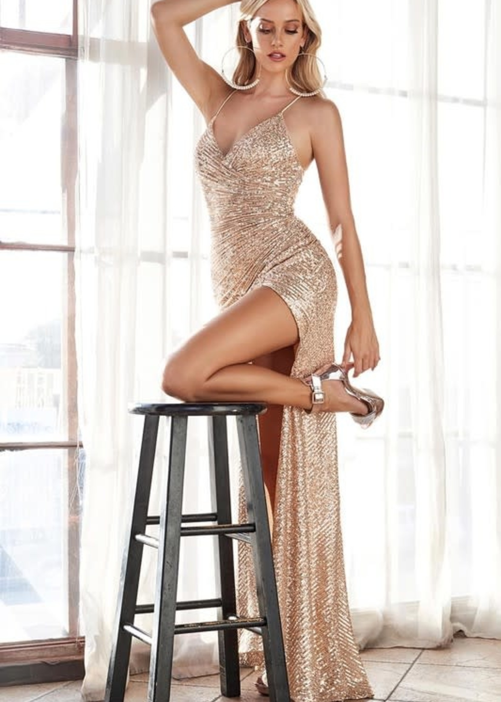 Shine Bright Formal Dress (Availble In 3 Colors)