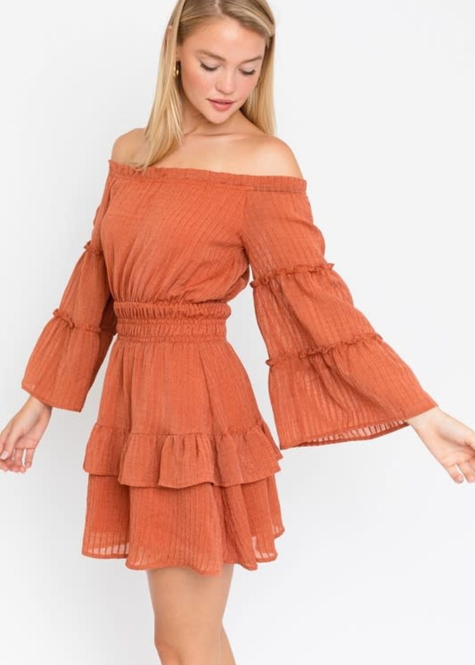 Best Of Fall Rust Dress