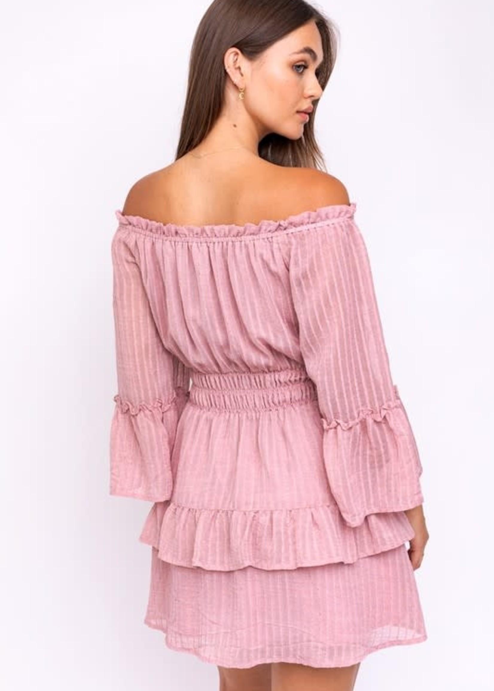 Best Of All Fall Blush Dress