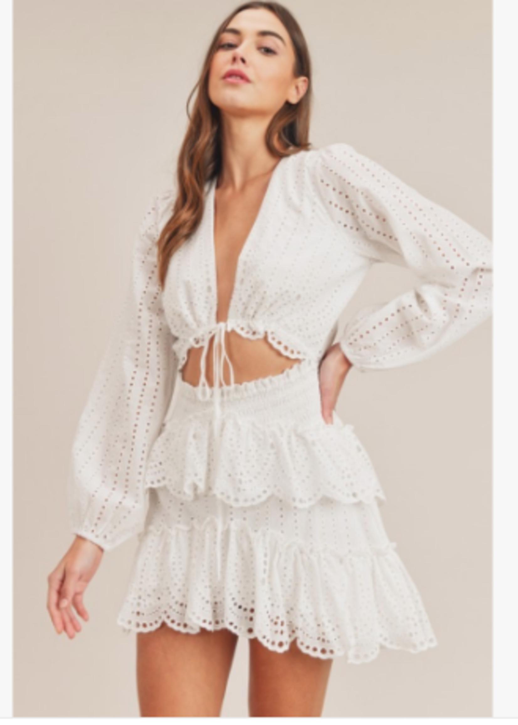 Best Dressed White Eyelet Dress