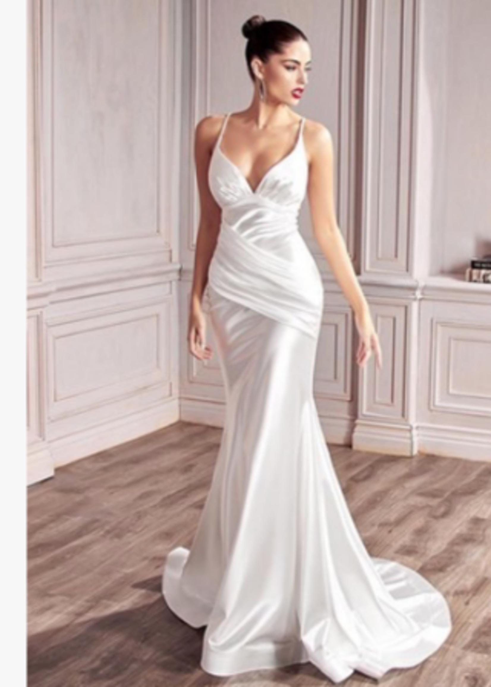 Satin Dream White Dress