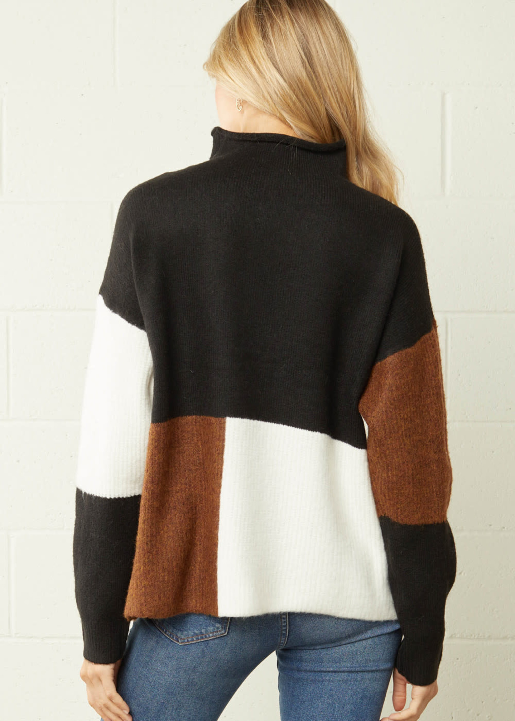 Cause We Can Colorblock Sweater (2 Colors)