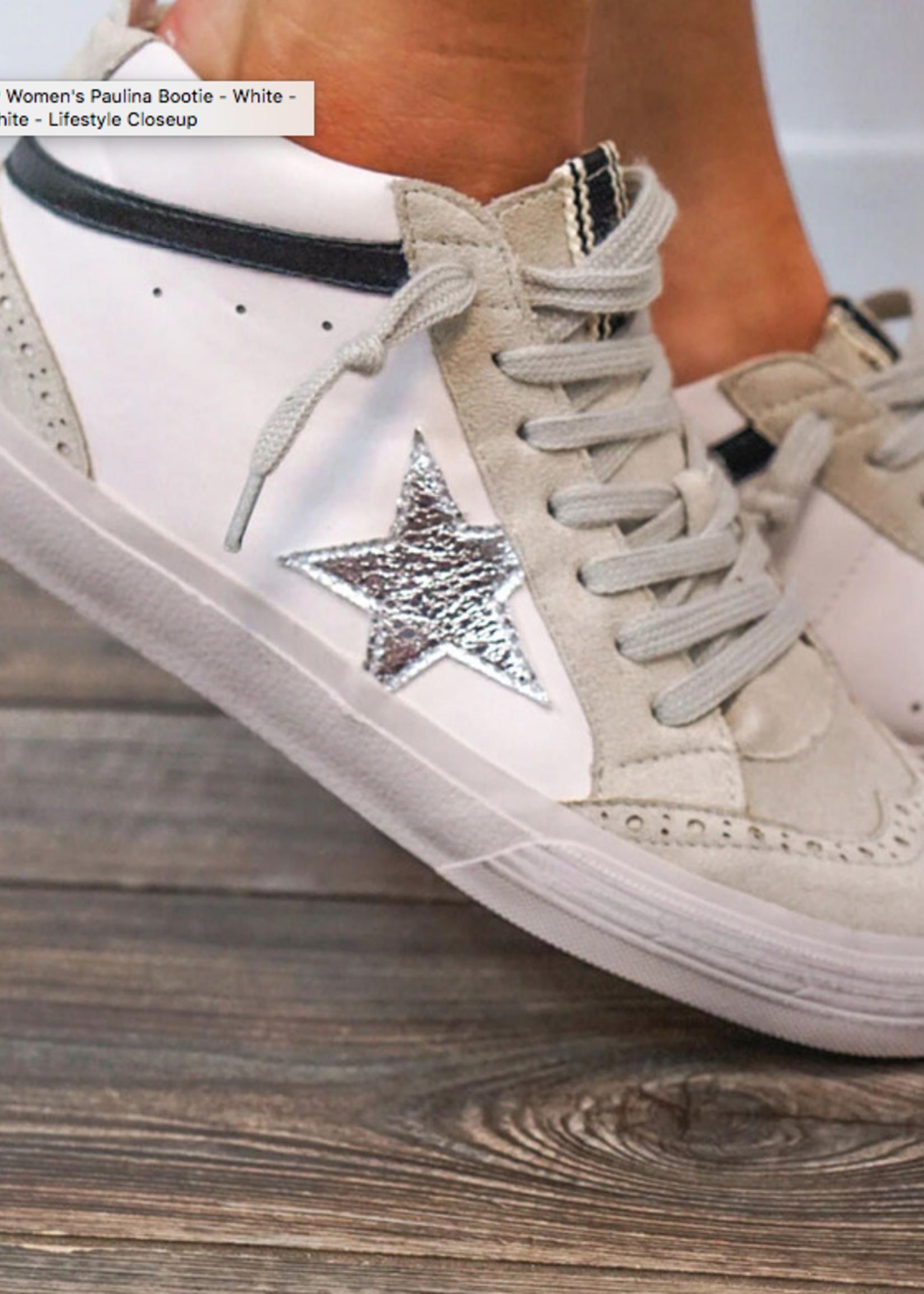 Silver Star Power Sneaker