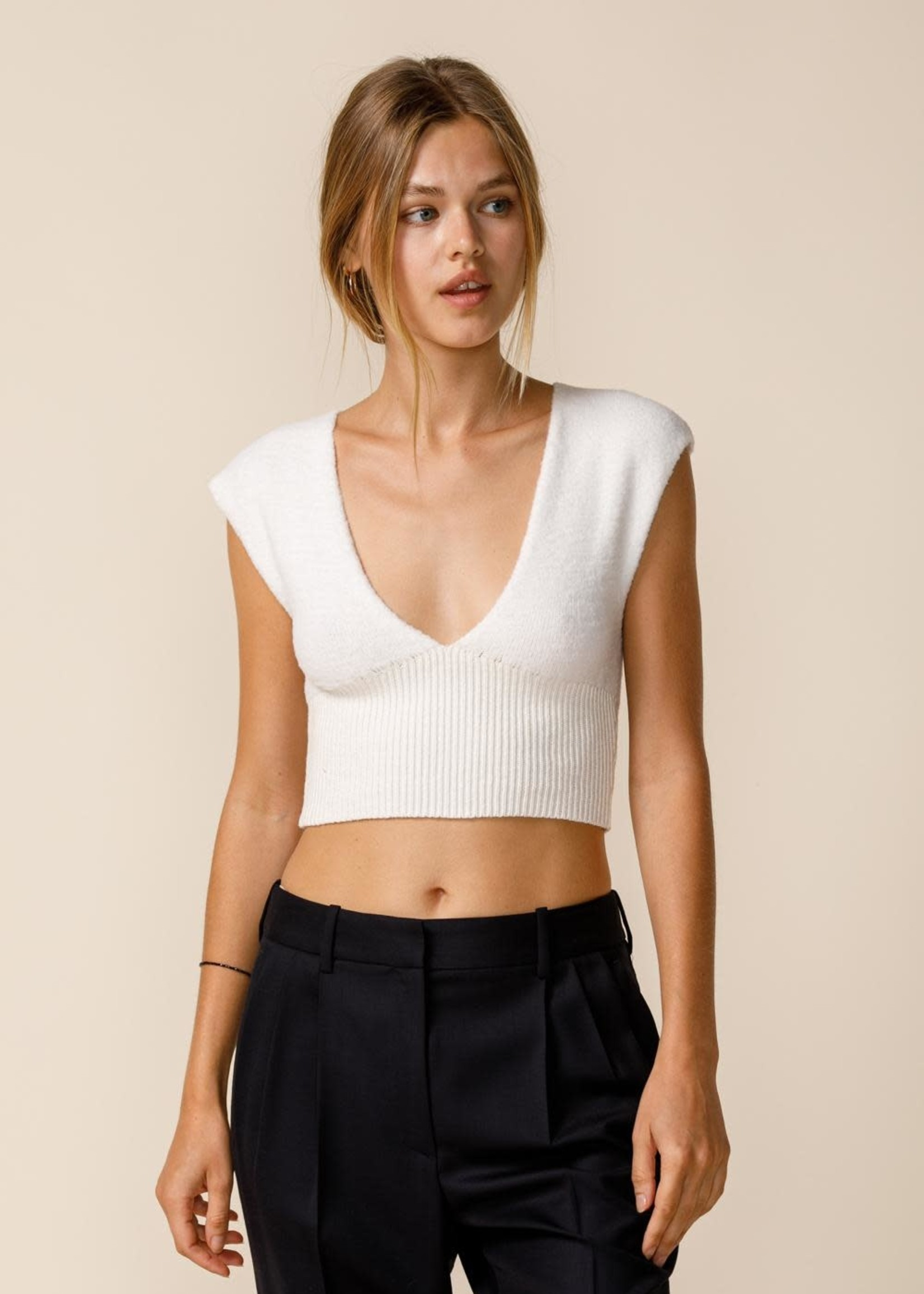 Fuzzy and Fun Crop Sweater (Available in 3 Colors)