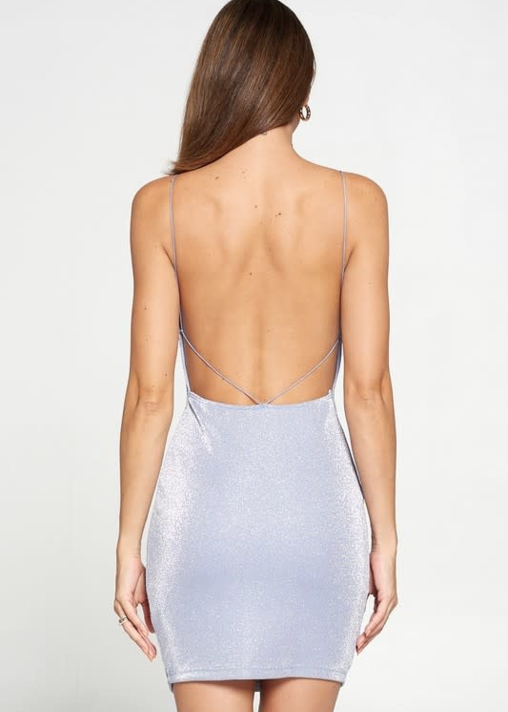 Sparkle Dream Open Back Dress