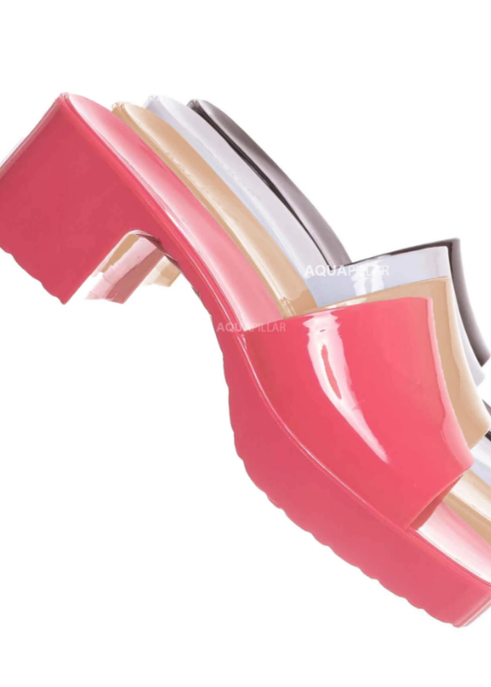 Hot Pink Jelly Slide
