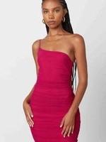 Celebrate One Shoulder Dress (2 Colors)