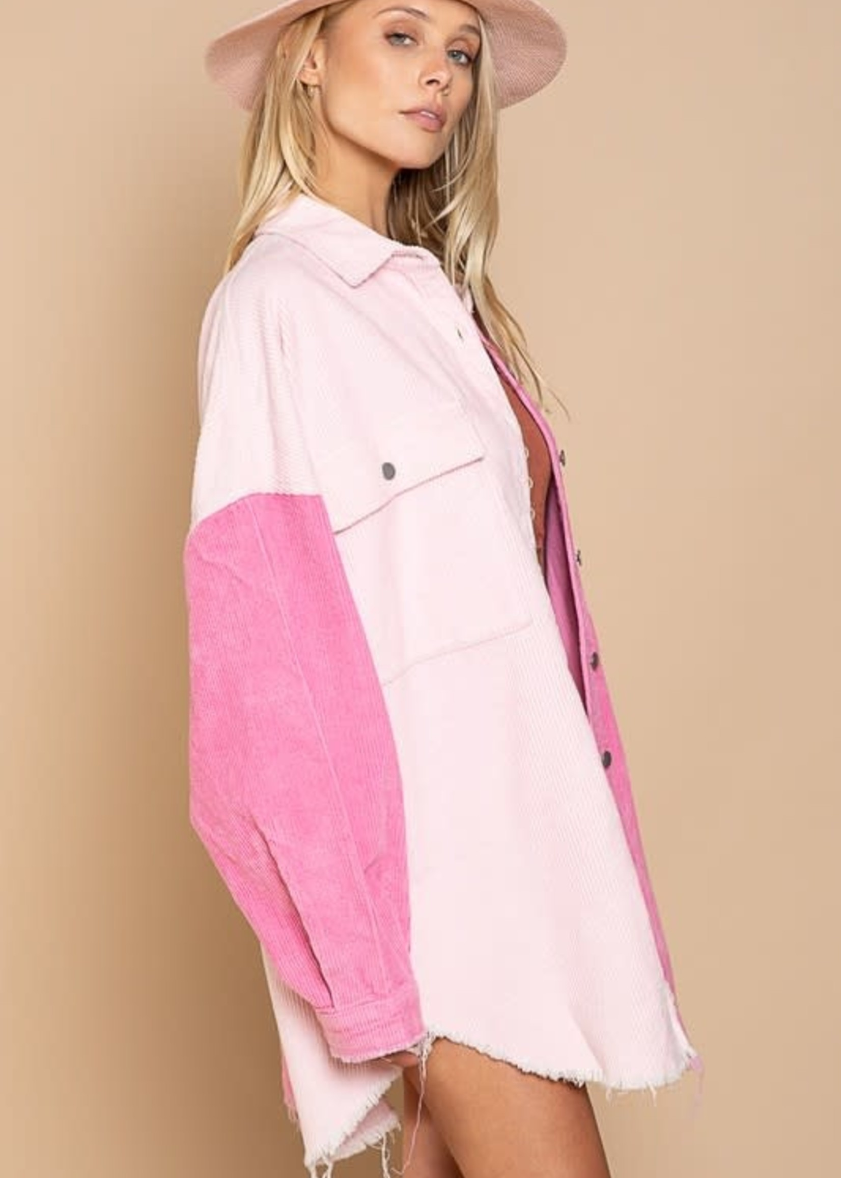 Color Combo Shacket (2 colors)