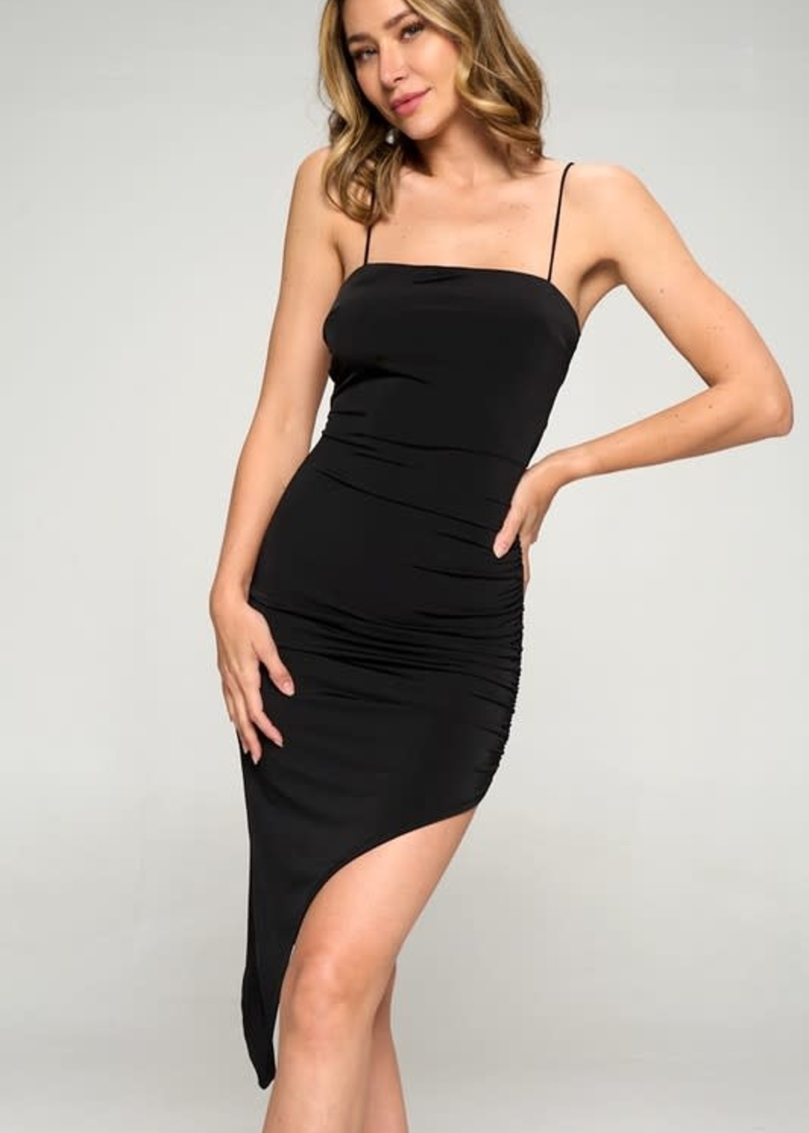 Celebrate This Moment Black Dress