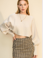 Fav Fall Crop Sweater (2 Colors)