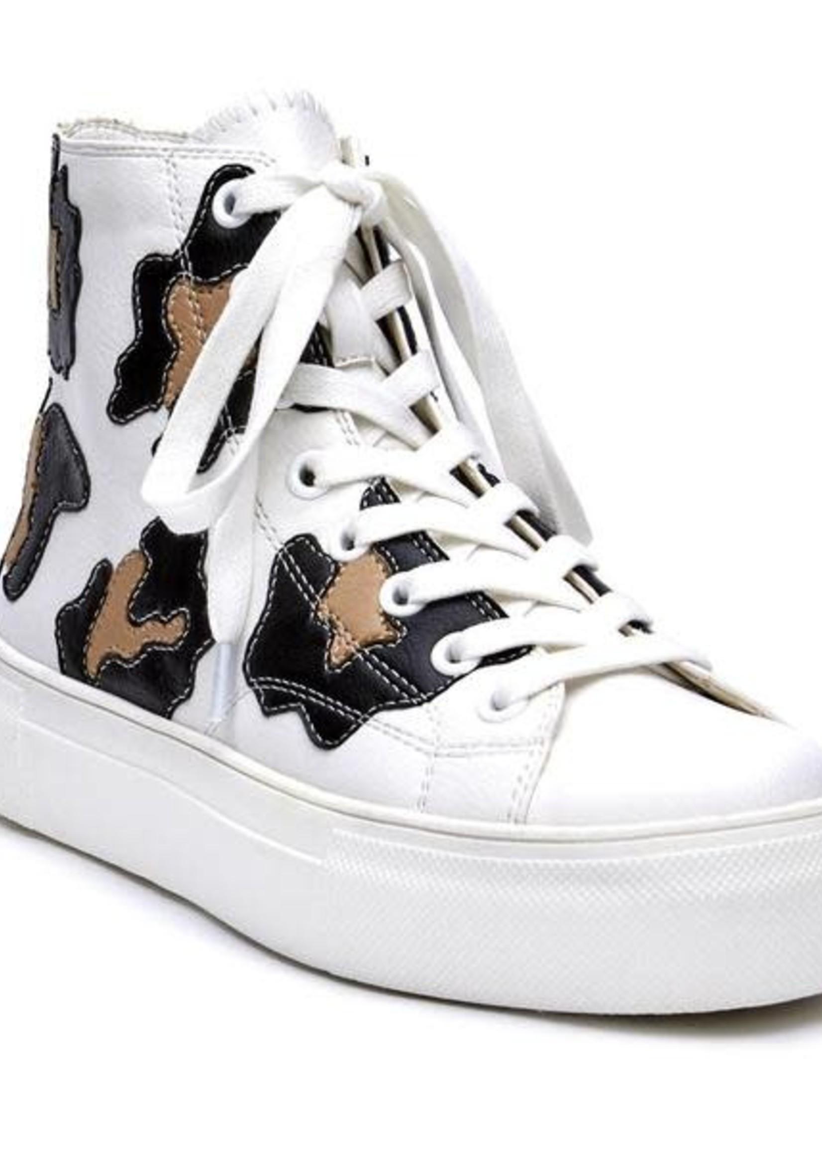 Kick It Platform Black/Nude Sneaker