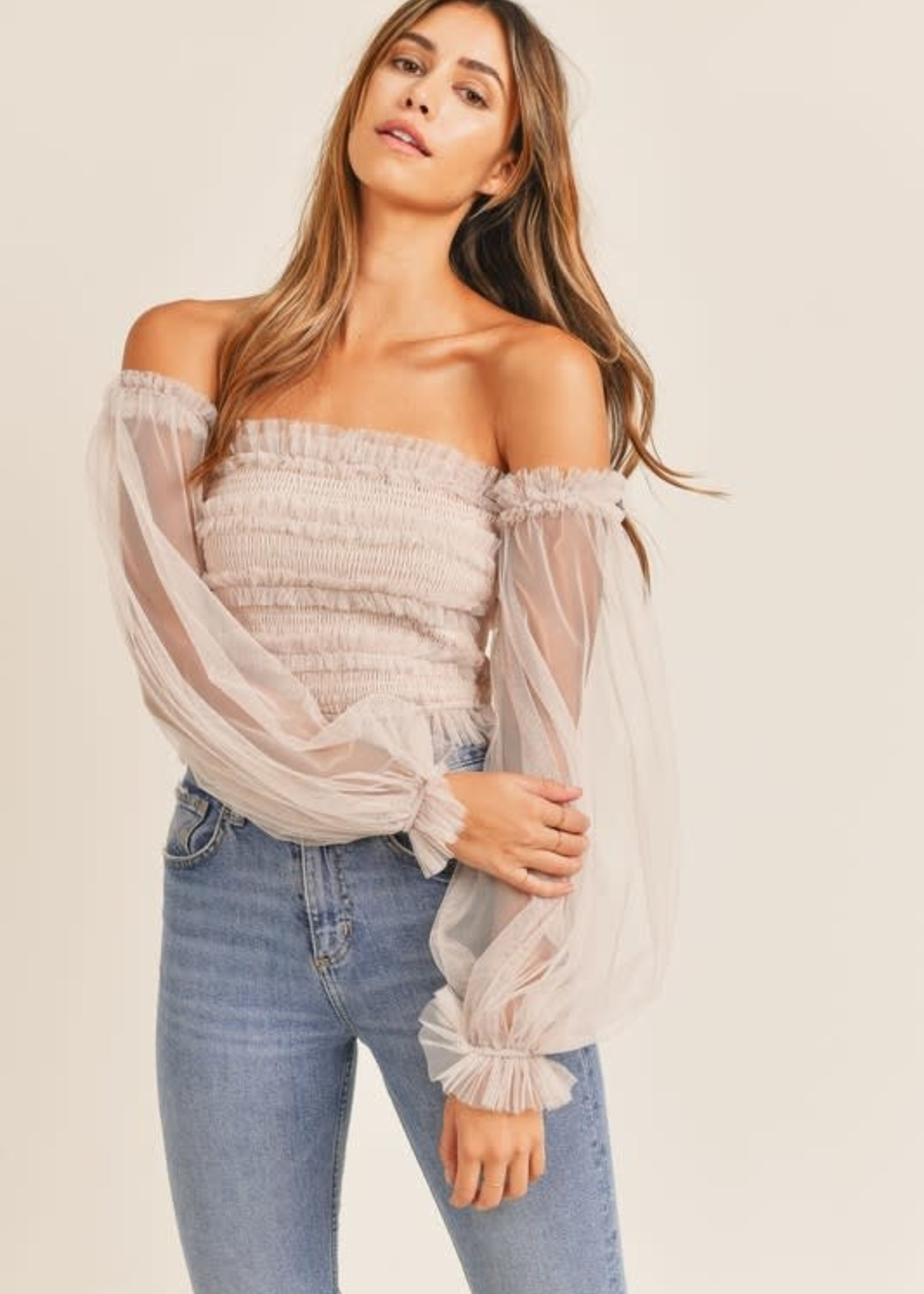 Mesh With Me Top (3 Colors)