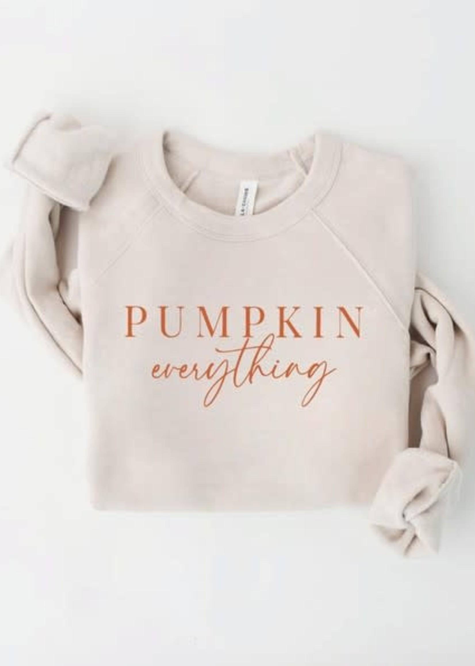 Pumpkin Everything Sweatshirt