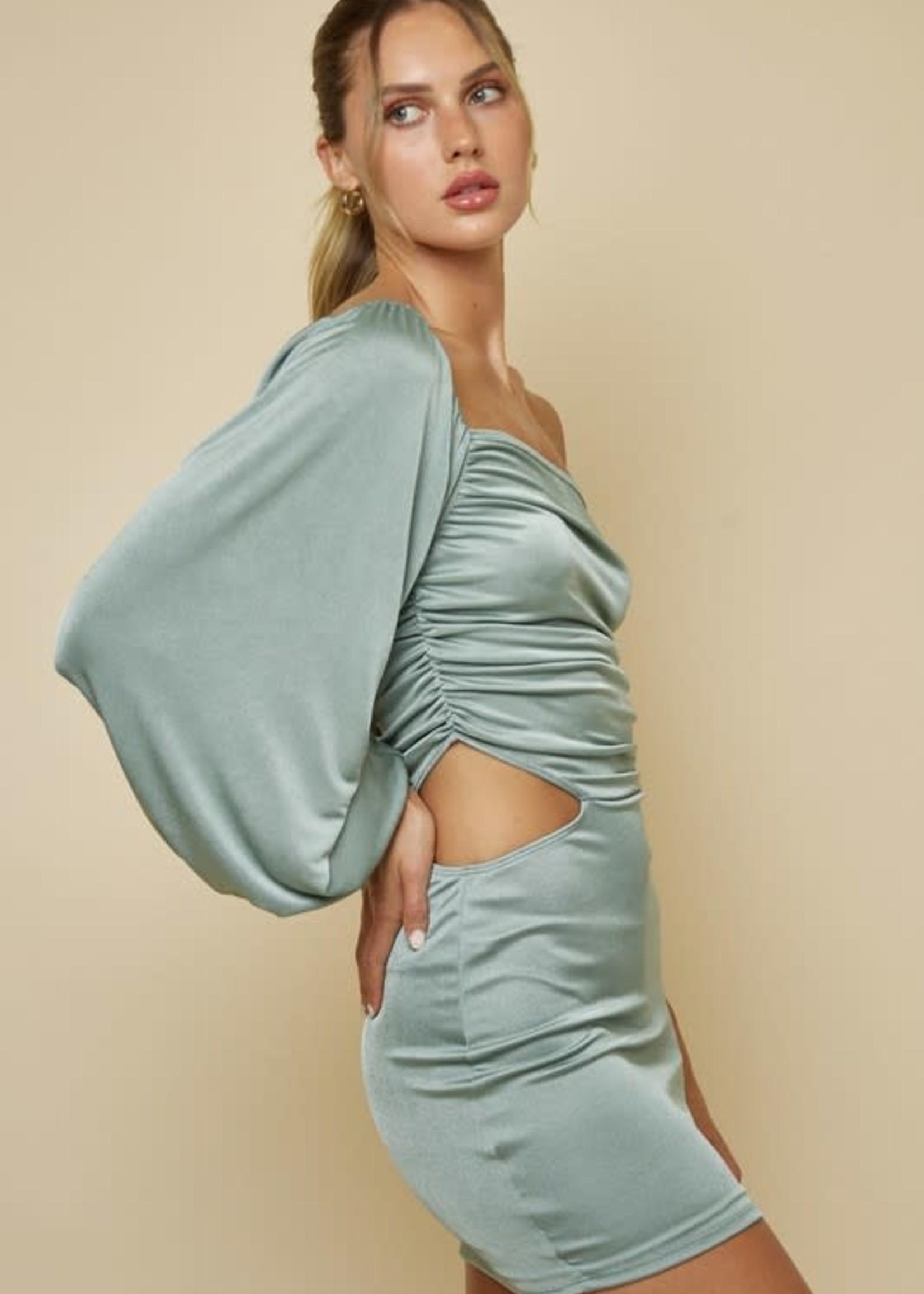 Dream On Sage Dress