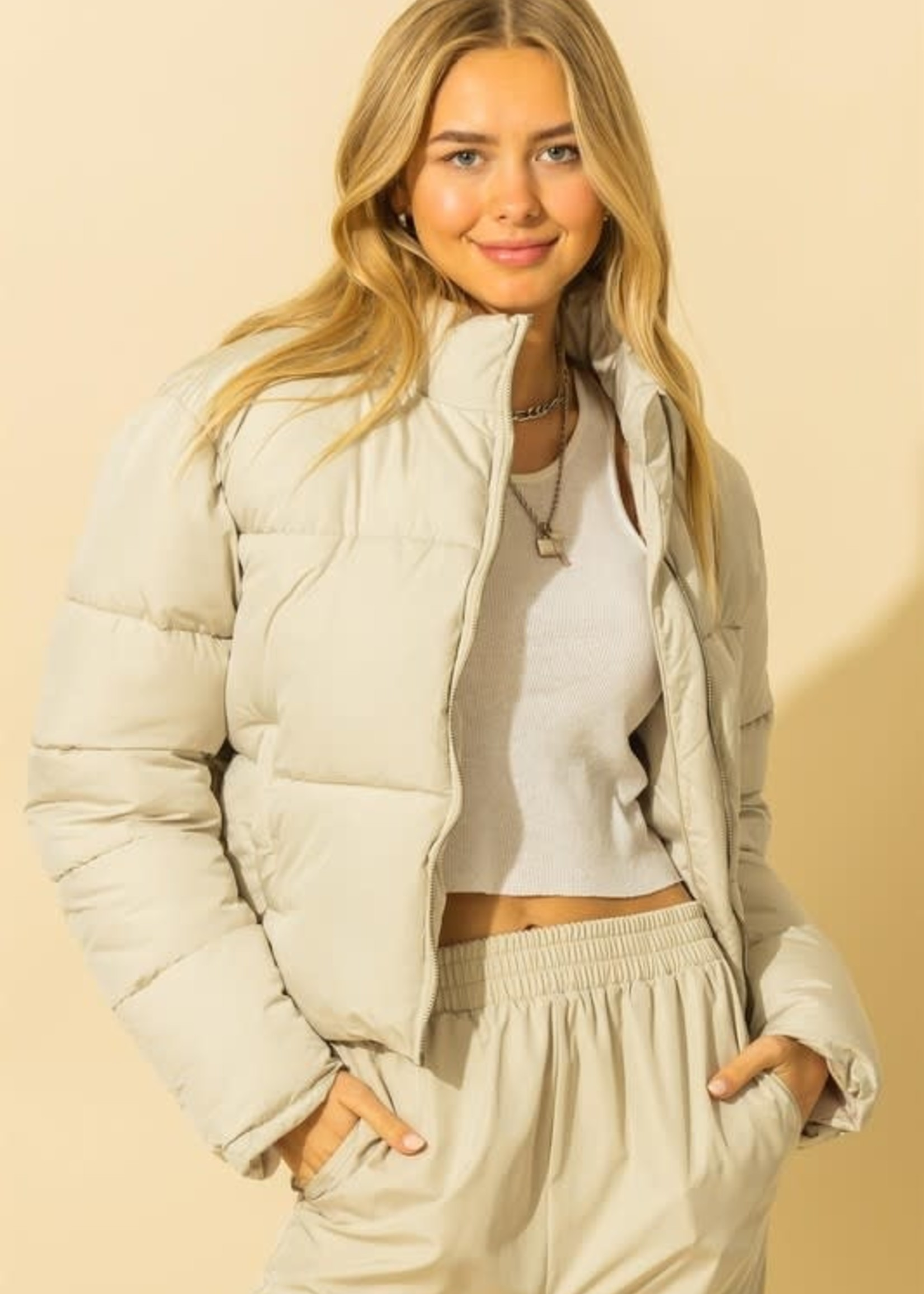 Puffer Jacket (2 Colors)