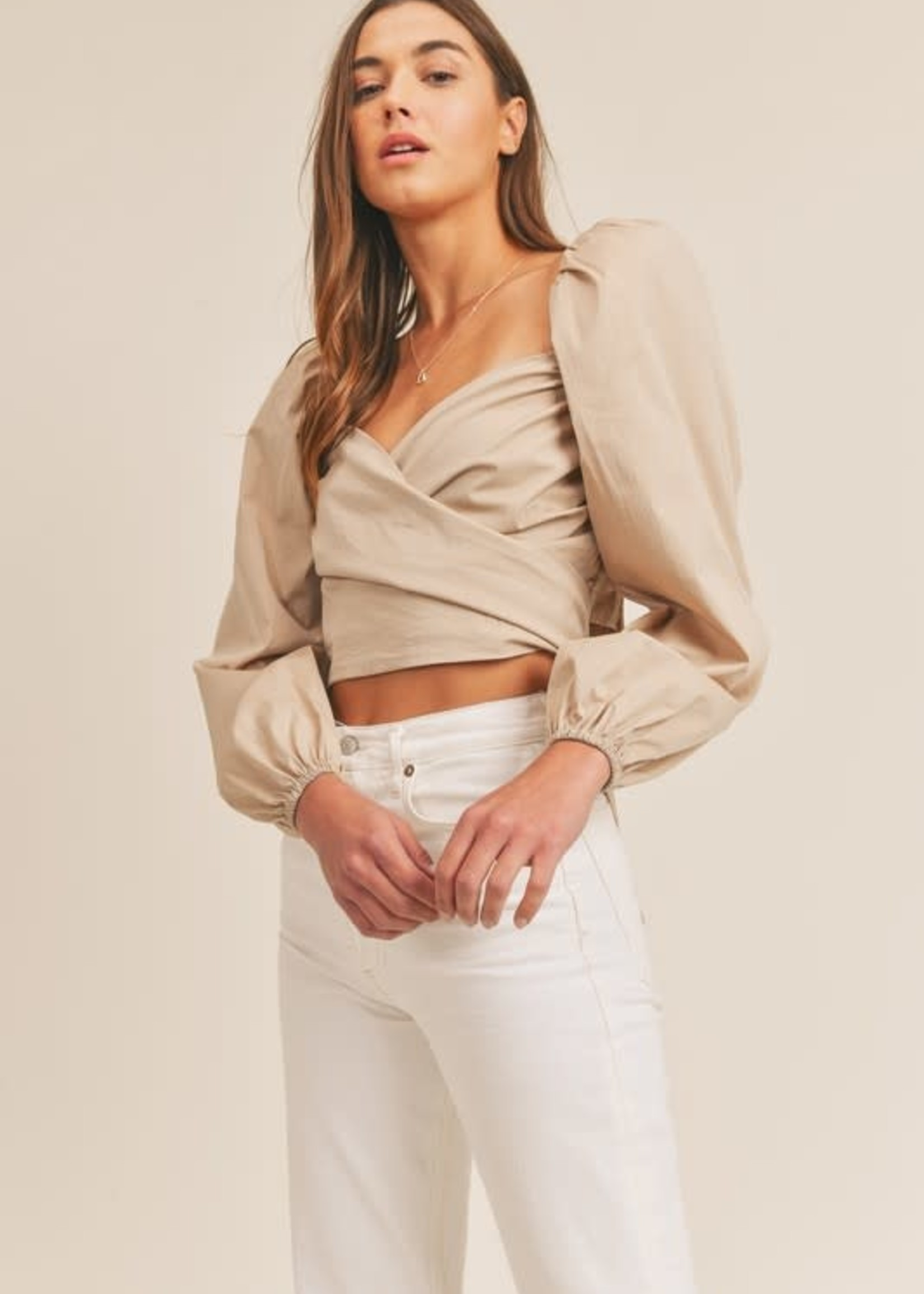 Wear Me Two Ways Wrap Top (4 Colors Availble)