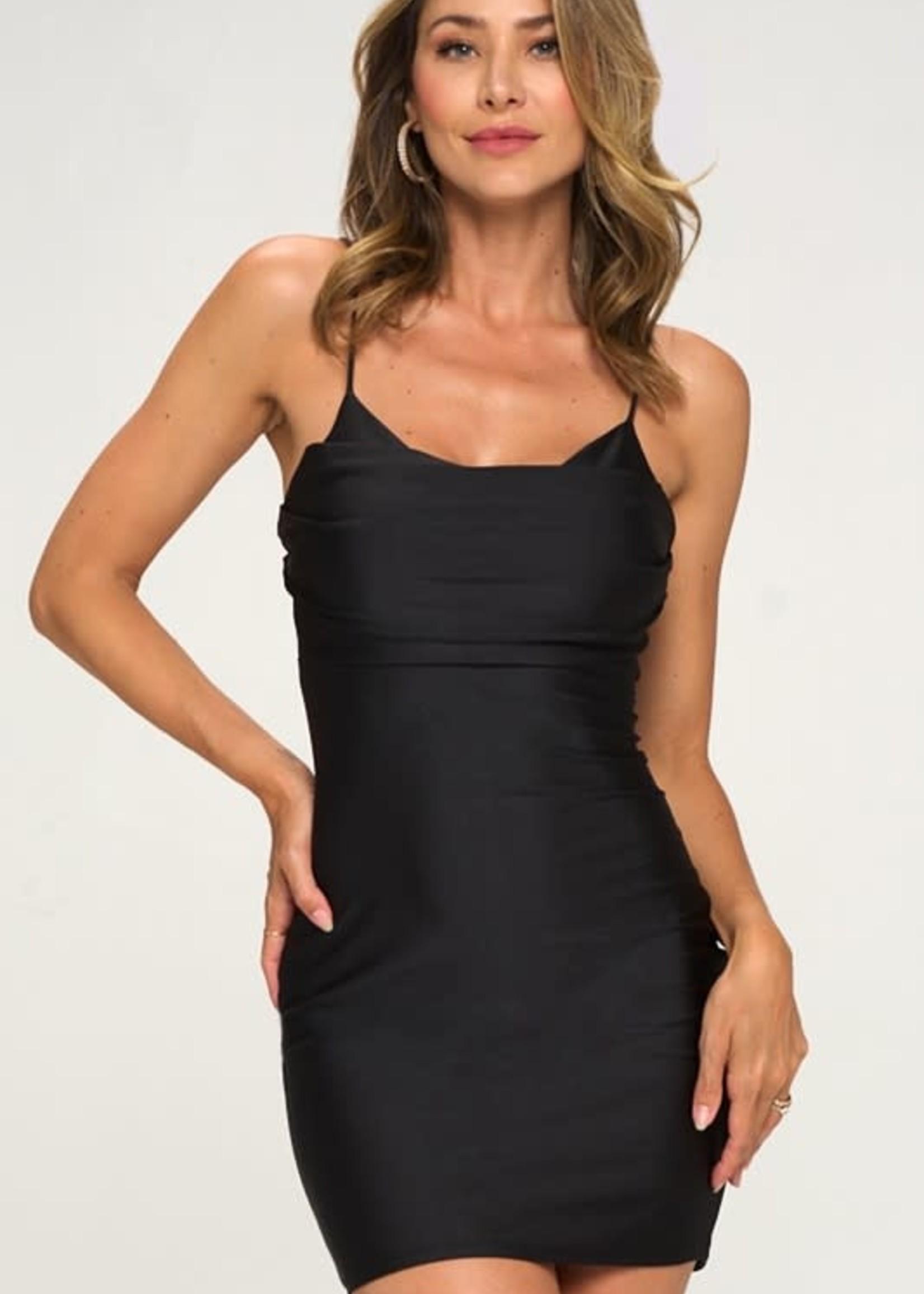 Time To Celebrate Black Dress