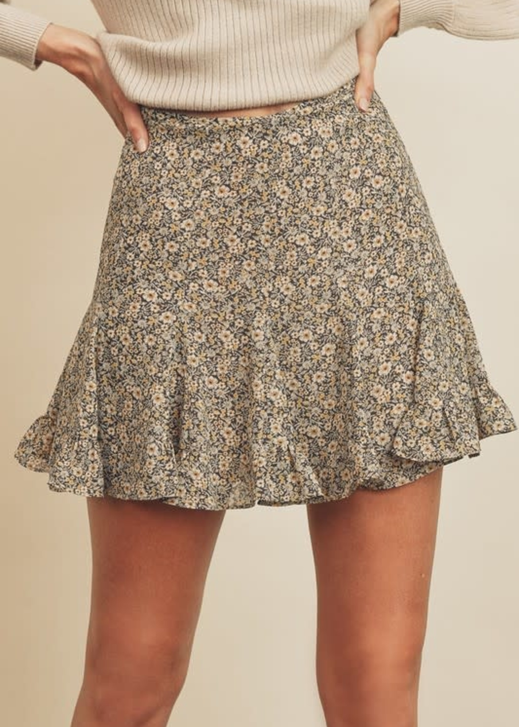 Take A Moment to Fall Skirt