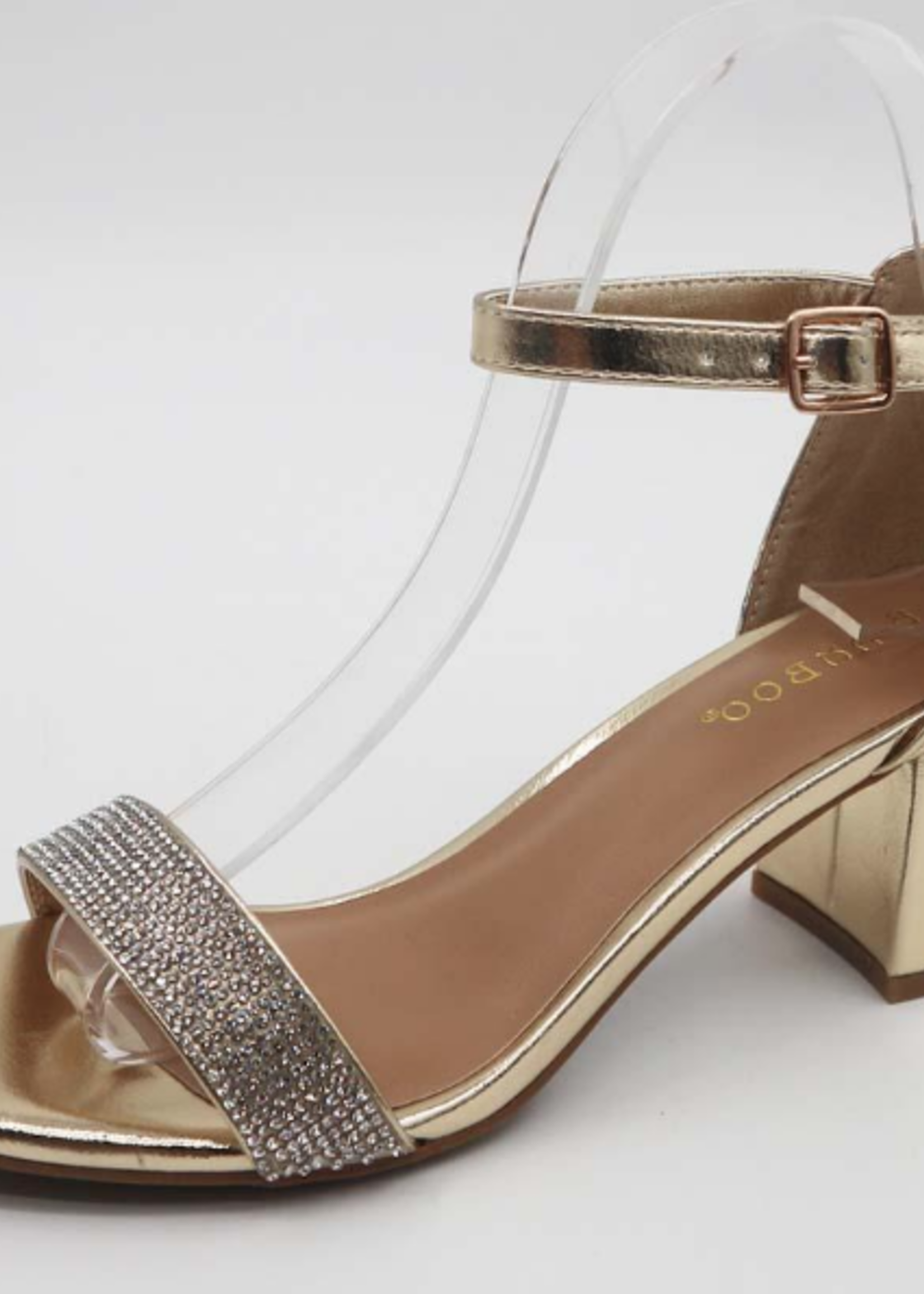 Sparkle and Shine Gold Heel