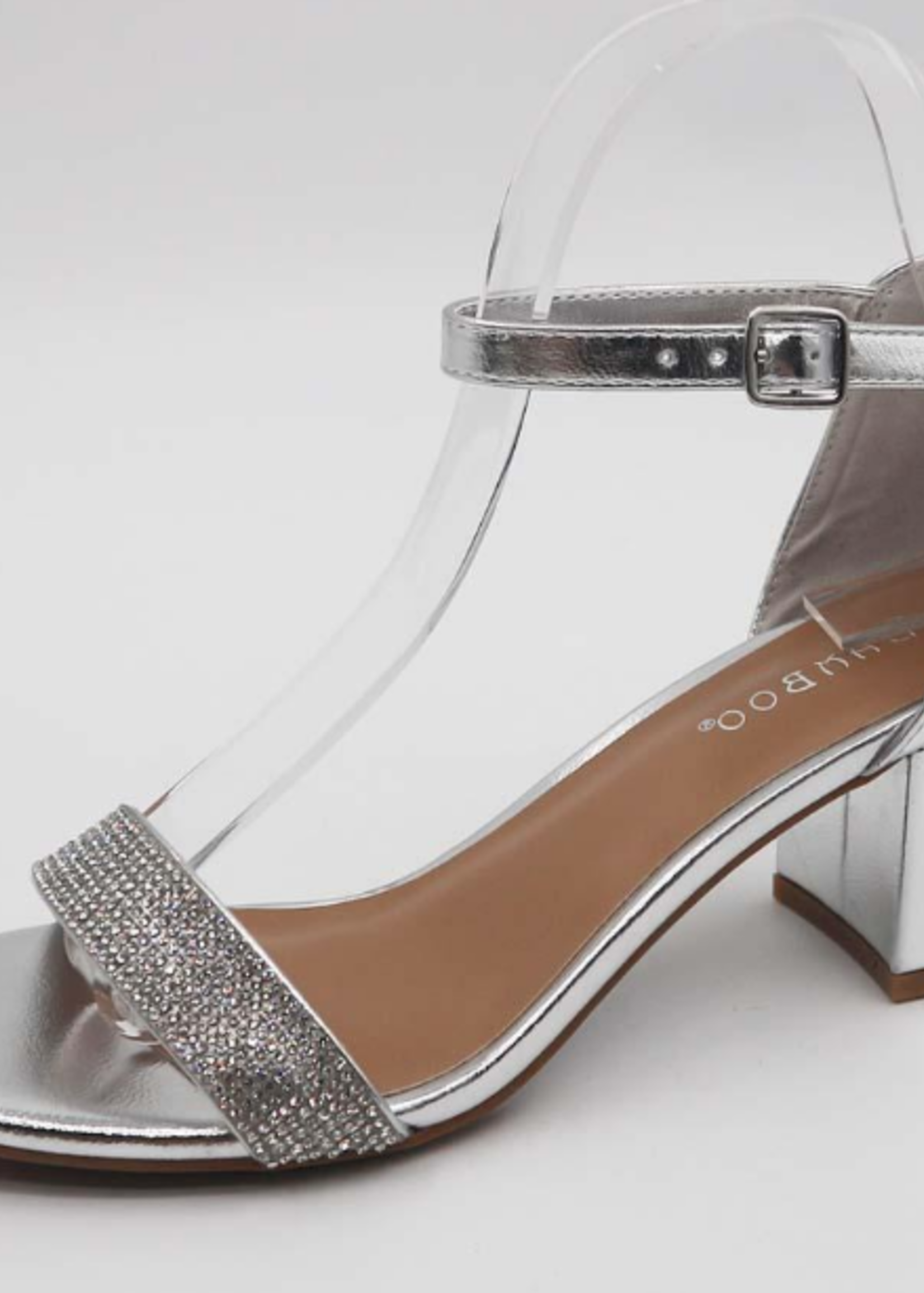 Sparkle and Shine Silver Heels