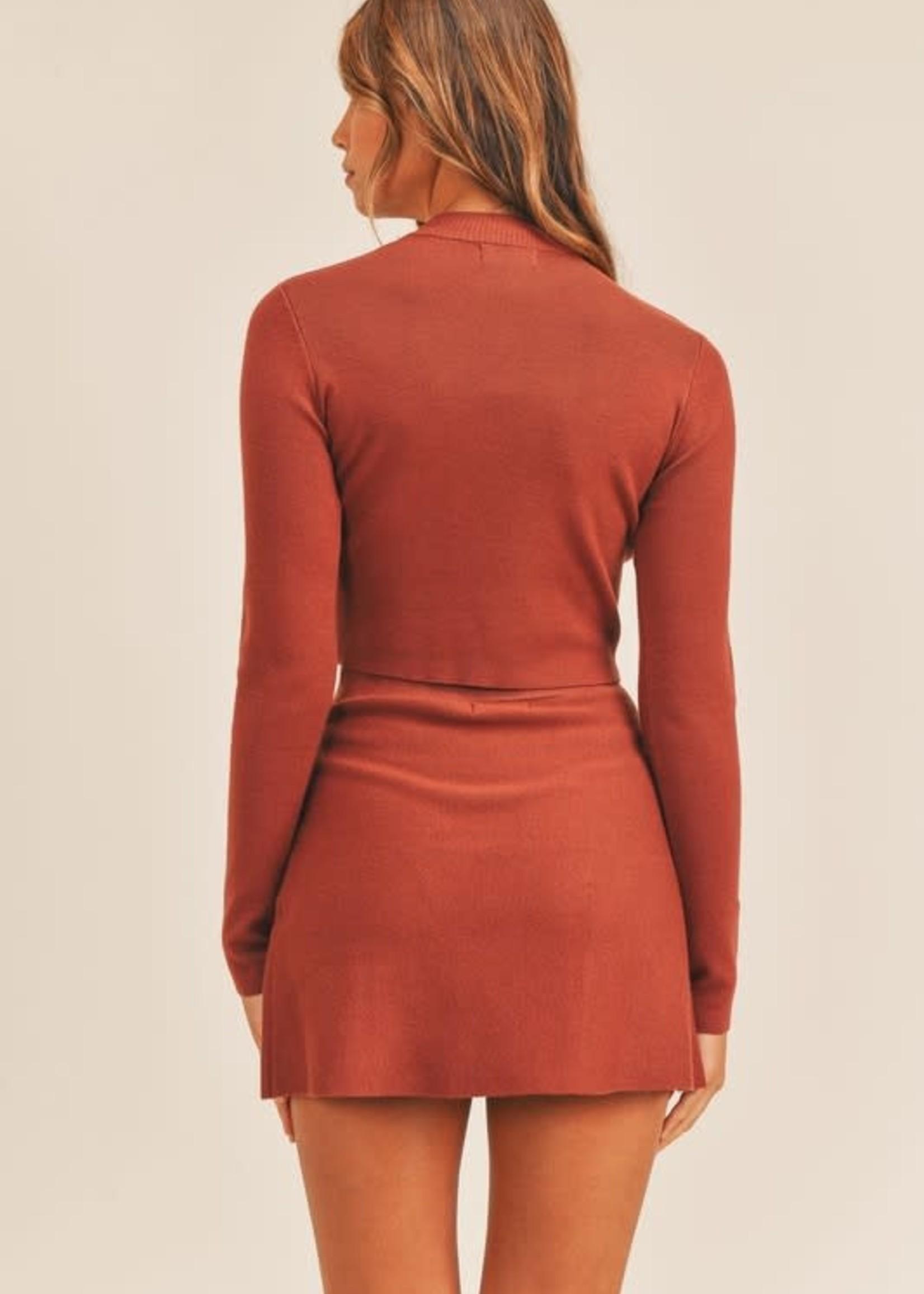 All The Fall Feels Rust Skirt