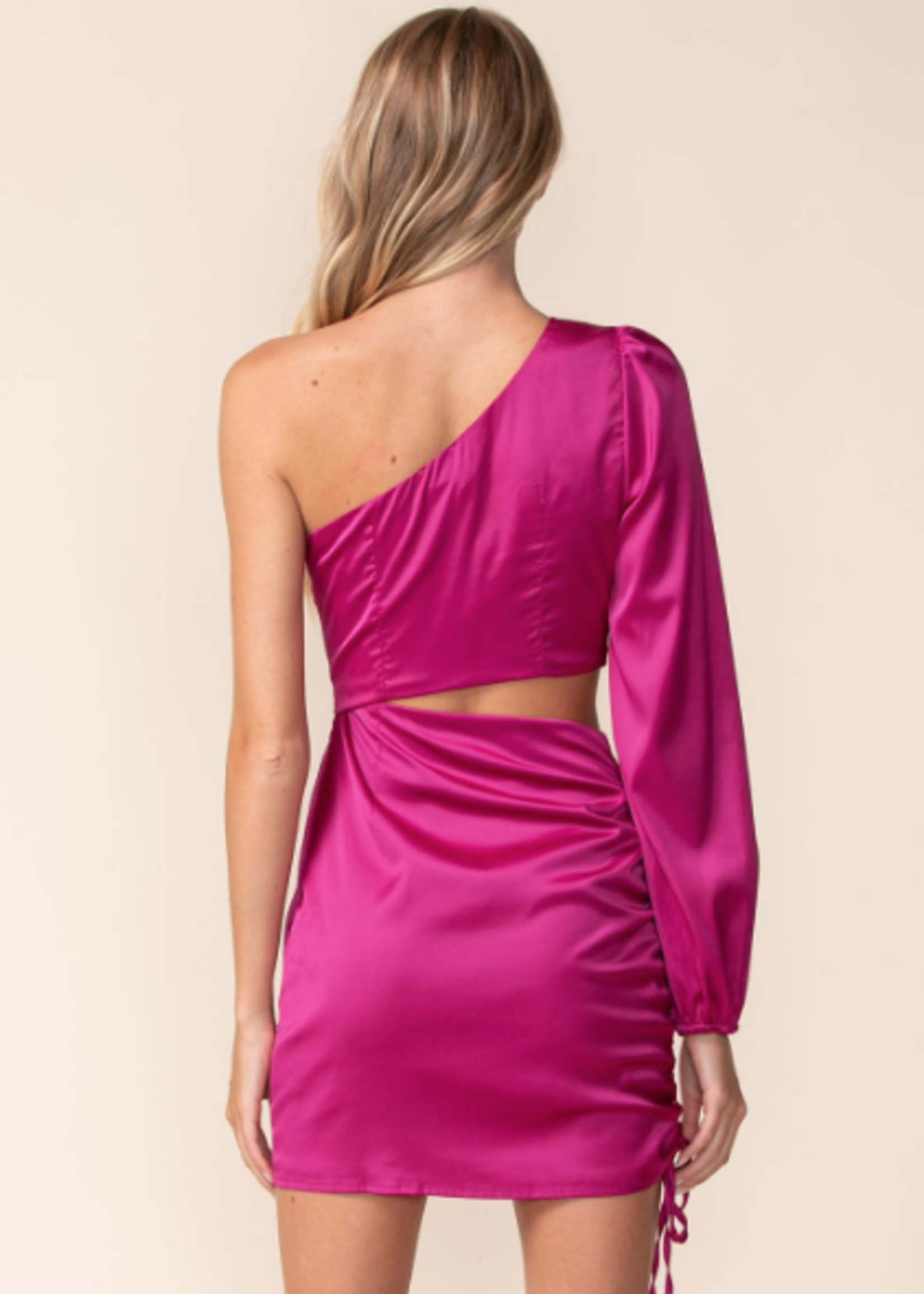 Make It Count Satin Dress (2 Colors)