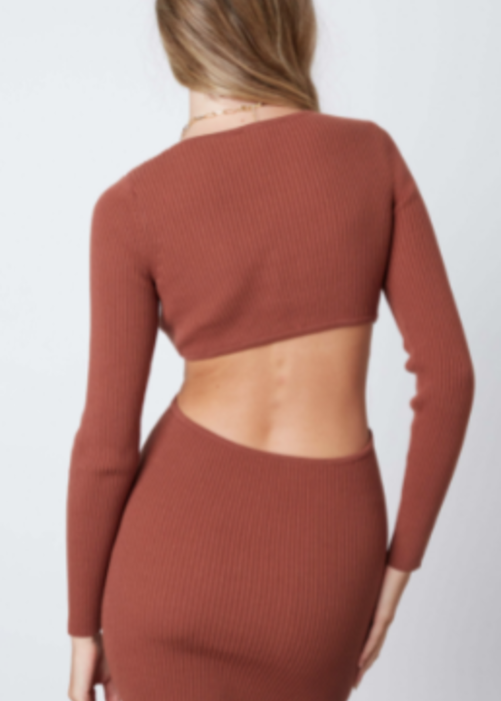 Cut Out For Fall Dress (2 Colors)
