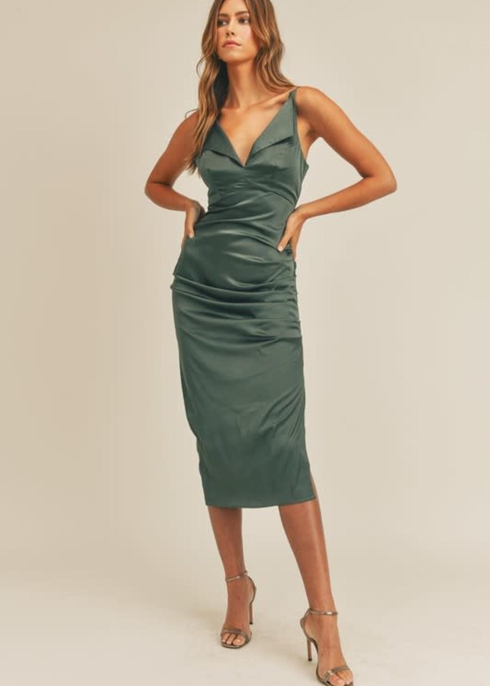 Make It Count Midi Dress (3 Colors)